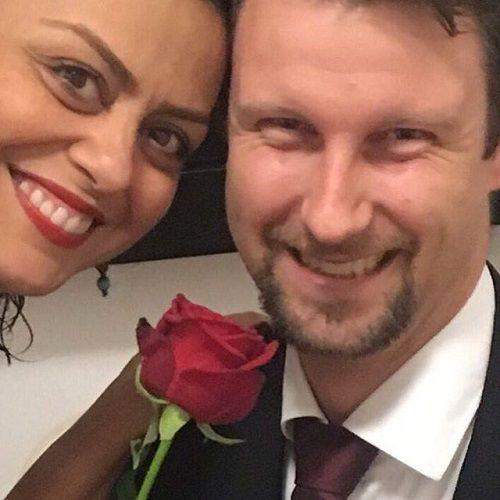 عکس شبنم فرشادجو و همسرش
