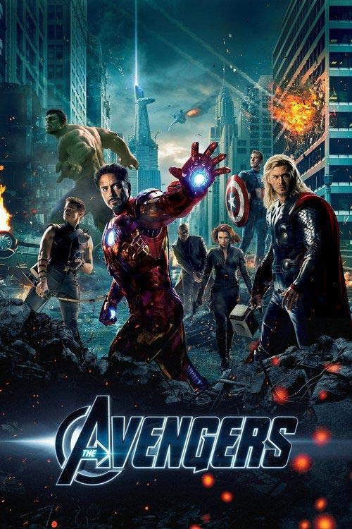 دانلود فیلم انتقام جویان 1 - The Avengers 2012 دو زبانه