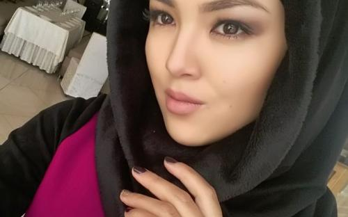 ملکه زیبایی قرقیزستانی محجبه شد + عکس