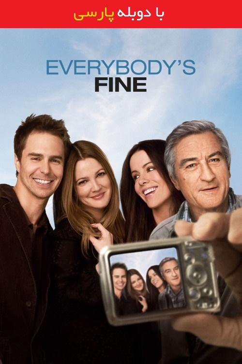 دانلود رایگان دوبله فارسی فیلم حال همه خوبه Everybody's Fine 2009