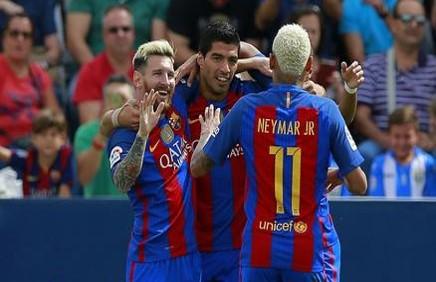 خلاصه ی بازی بارسلونا و منچسترسیتی سه شنبه 11 آبان 95 + دانلود گلها