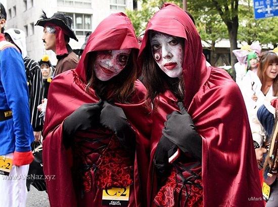 تصاویر جدید هالووین در ژاپن