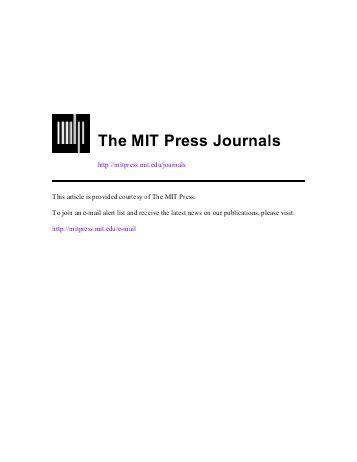 دانلود رایگان مقاله- دسرسی به MIT جورنالز
