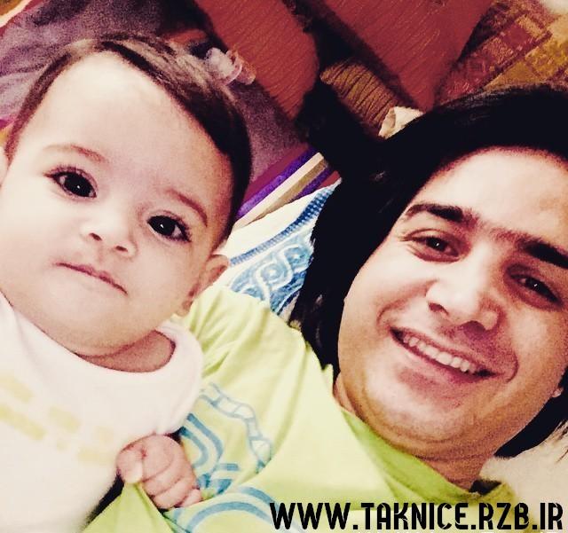 عکس سلفی محسن یگانه با دخترش نگاه