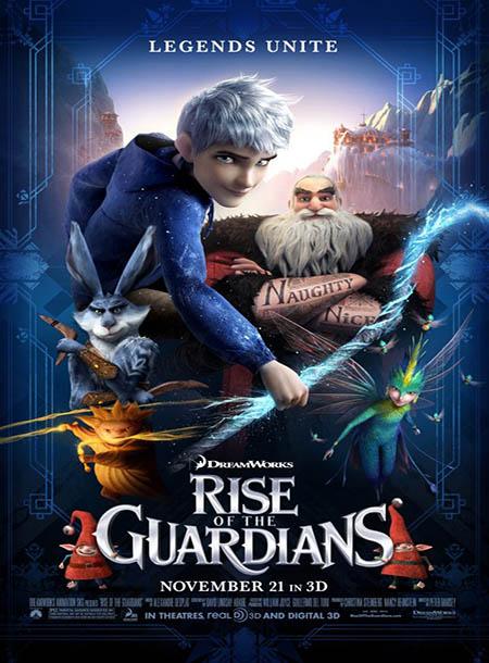 دانلود انیمیشن نگهبانان قصه ها 2012 Rise of the Guardians با دوبله فارسی