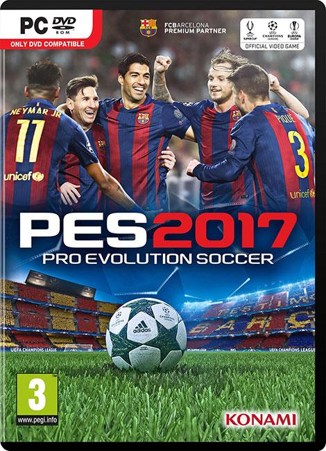 دانلود ورژن نهایی بازی Pro Evolution Soccer 2017 PC