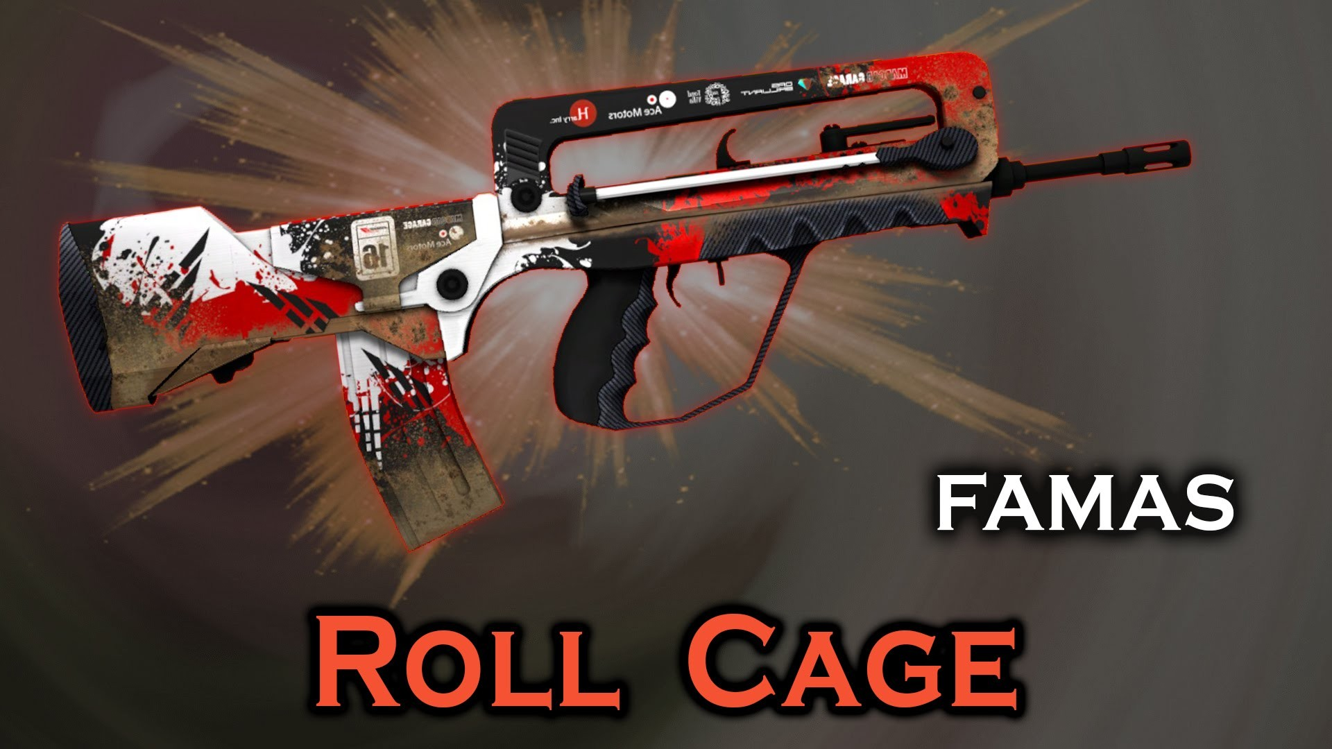 دانلود اسکین فاماس CS:GO FAMAS Roll Cage برای کانتر استریک 1.6
