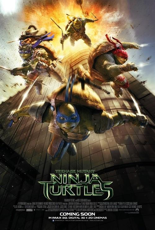 دانلود دوبله فارسی فیلم لاکپشت های نینجا ۲۰۱۴ Teenage Mutant Ninja Turtles