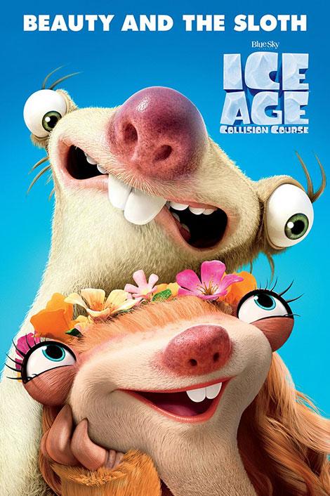 دانلود رایگان دوبله فارسی انیمیشن Ice Age: Collision Course 2016