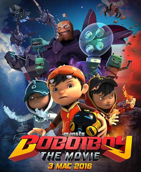 دانلود رایگان انیمیشن کمدی بوبویبوی BoBoiBoy: The Movie 2016
