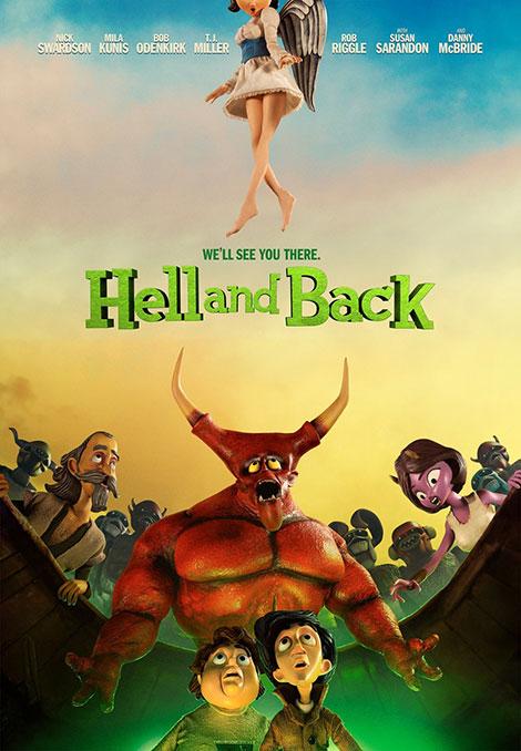 دانلود دوبله فارسی انیمیشن بازگشت به جهنم Hell and Back 2015