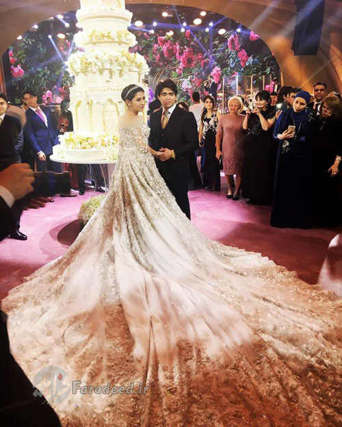 گرانترین عروسی جهان