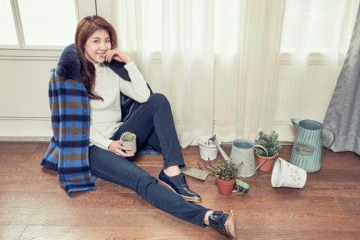 عکسای خوشگل Ha Ji Won برای برند لباس زنانه Crocodile Lady