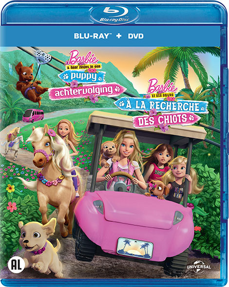 دانلود انیمیشنBarbie & Her Sisters in a Puppy Chase 2016