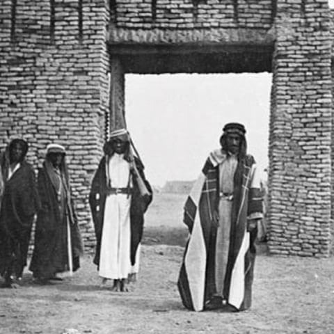 الشیخ حمود السويط مدخل الخميسية ١٩١٦م