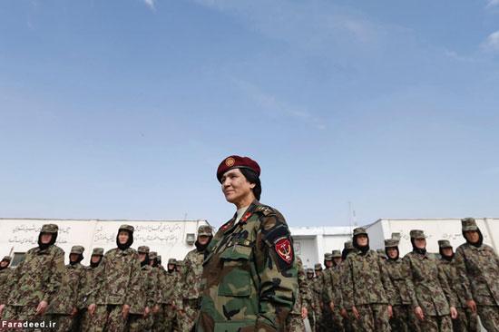 پادگان آموزشی زنان در افغانستان