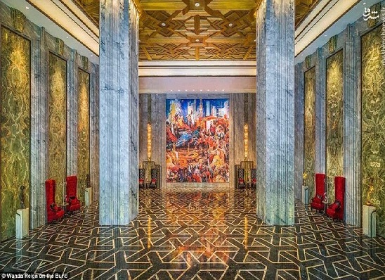 عکس/ اولین هتل ۷ ستاره و مجلل چین
