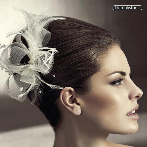 تاج عروس,گل سر عروس,تور عروس