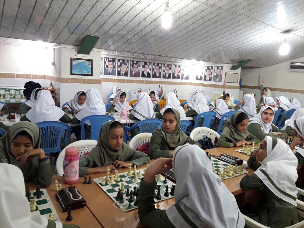 ♻پایان باشکوه مسابقات شطرنج مدارس شهرستان کازرون در 3مقطع تحصیلی ابتدائی،متوسطه1ومتوسطه2دختران♻