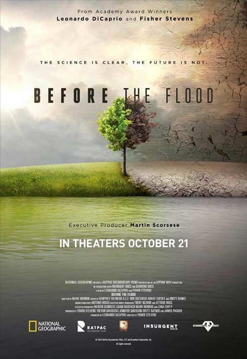 دانلود فیلم Before the Flood 2016 با لینک مستقیم