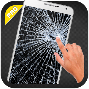 شبیه ساز صحفه شکسته - Broken Screen Prank