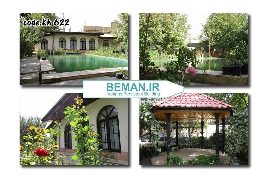 3550 متر باغ ویلا در خوشنام ملارد