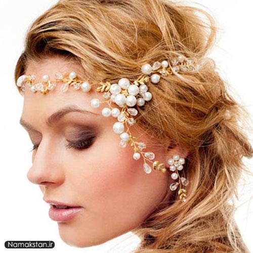 مدل تاج گل سر عروس 2016,مدل تاج عروس 2016,مدل گل سر عروس 2016
