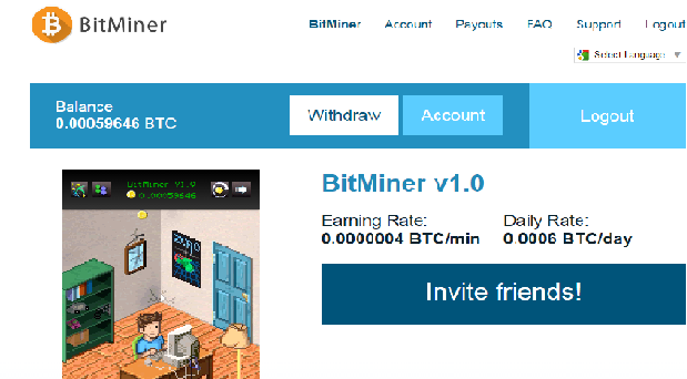 BitMiner_ سیستم عالی استخراج رایگان بیتکوین