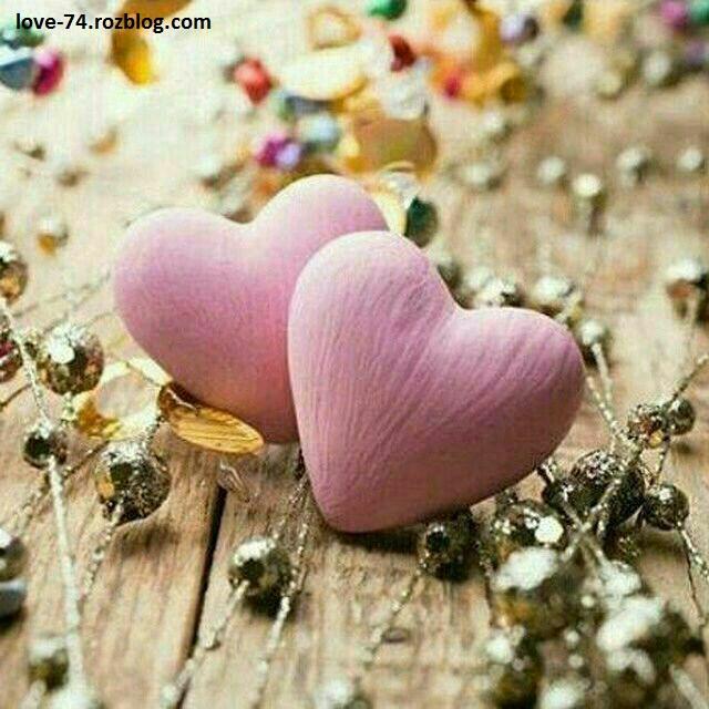 عکس دو تا قلب-عکس عاشقانه قلب-عکس قلب صورتی-عکس قلب زیبا