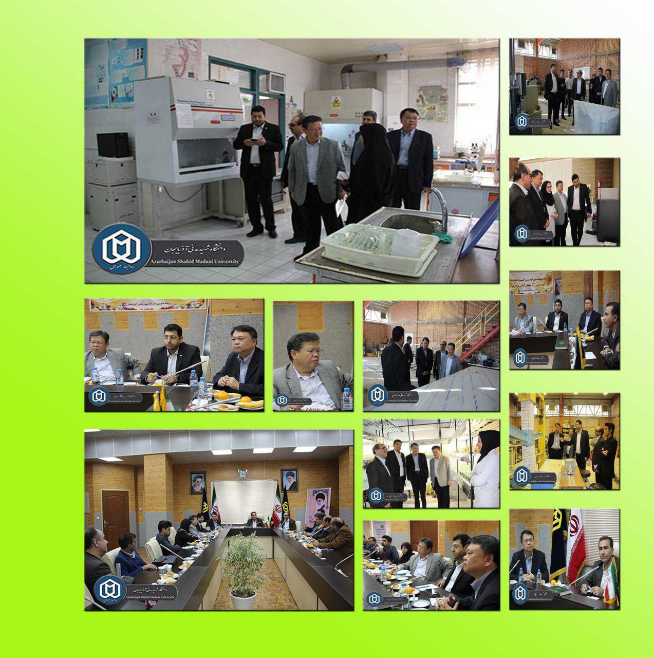 خبر هایی از دانشگاه شهید مدنی آذربایجان