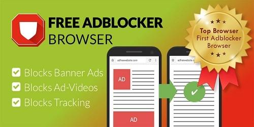 دانلود Free Adblocker Browser – مرورگر پر سرعت و ضد تبلیغ اندروید
