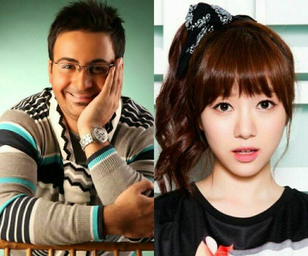 ازدواج بازیگر و خواننده ایرانی با خواننده مشهور کرهای