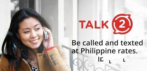 دانلود Talk2 PH تالک تو ساخت شماره مجازی فیلیپین