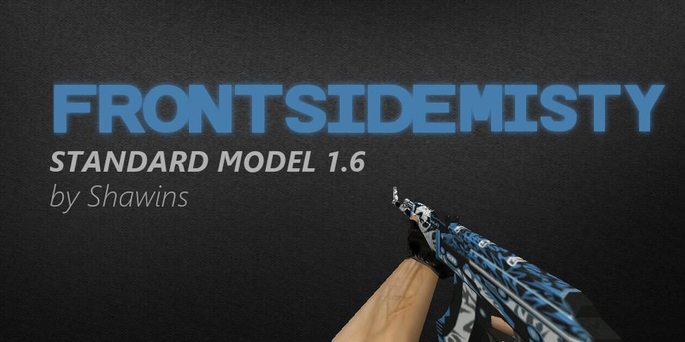 دانلود اسکین AK47 Frontside Misty برای کانتر استریک 1.6