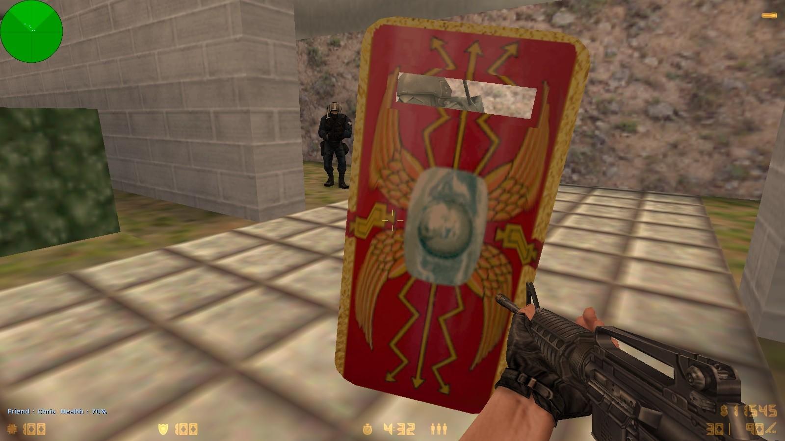 دانلود اسکین شیلد Roman shields برای کانتر 1.6