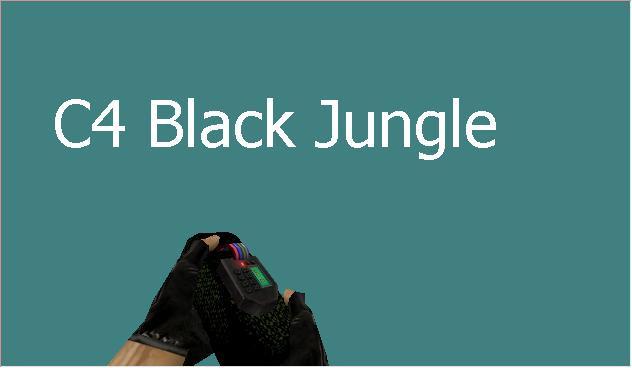 دانلود اسکین سی فور C4 Black برای کانتر استریک 1.6