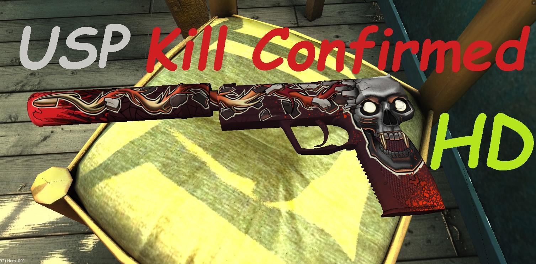 دانلود اسکین یو اس پی اچ دی Kill Confirmed HD برای کانتر استریک 1.6
