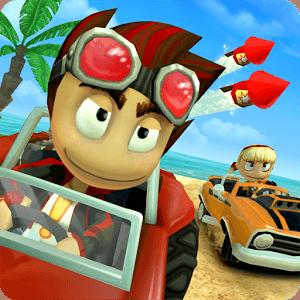 دانلود Beach Buggy Racing 1.2.12 - بازی مسابقه با باگی در ساحل برای اندروید
