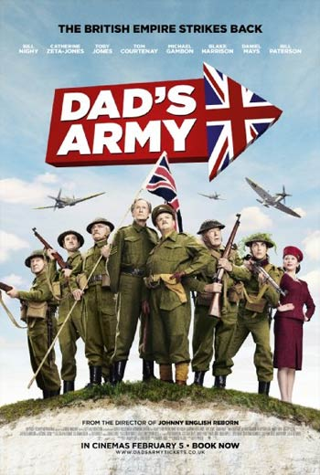 دانلود فیلم ارتش پدر Dad's Army 2016