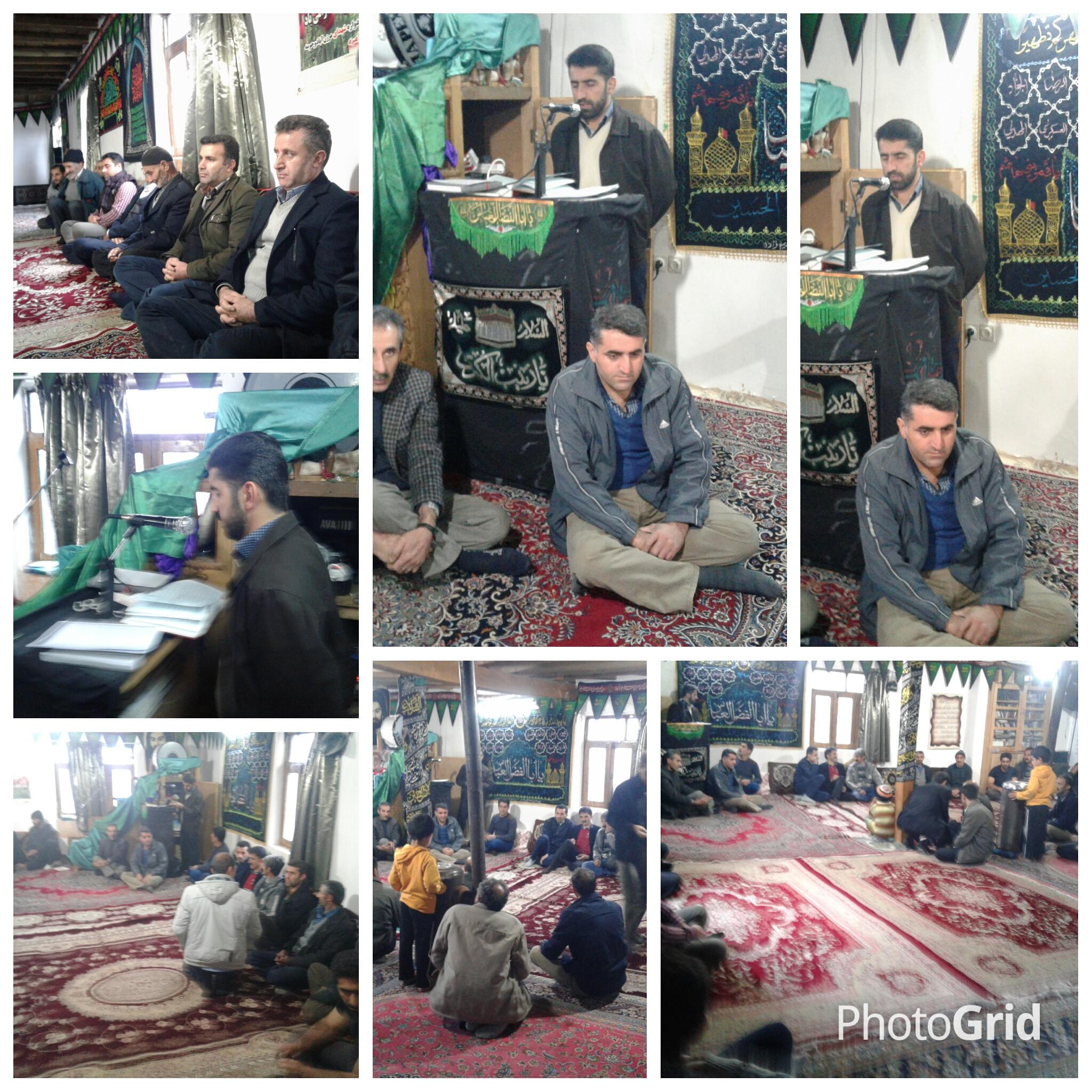 اولین جلسه ی هم اندیشی در تاریخ ۲۸/۸/۱۳۹۵در مسجد برگزار شد