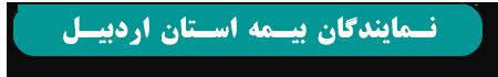 نمایندگان بیمه استان اردبیل