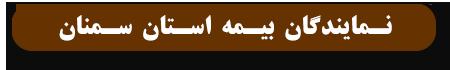 نمایندگان بیمه استان سمنان