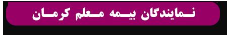 نمایندگان بیمه معلم استان کرمان