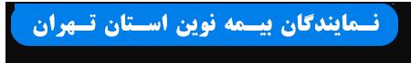 نمایندگان بیمه نوین استان تهران