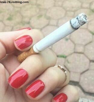 عکس سیگار کشیدن - عکس دود سیگار - عکس دست گرفتن سیگار - عکس سیگار کشیدن دختر