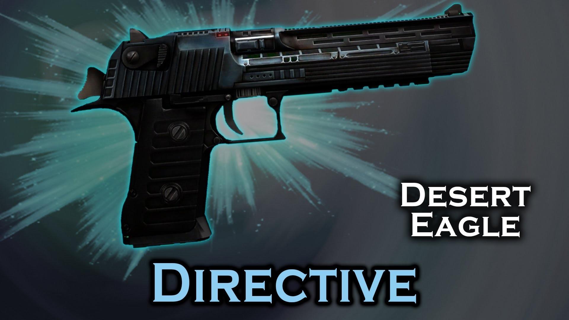 دانلود اسکین دیزرت Deagle Directive برای کانتر استریک 1.6