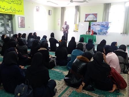 برگزاری مرحله اول اردوی عملی درس آمادگی دفاعی در هفته بسیج