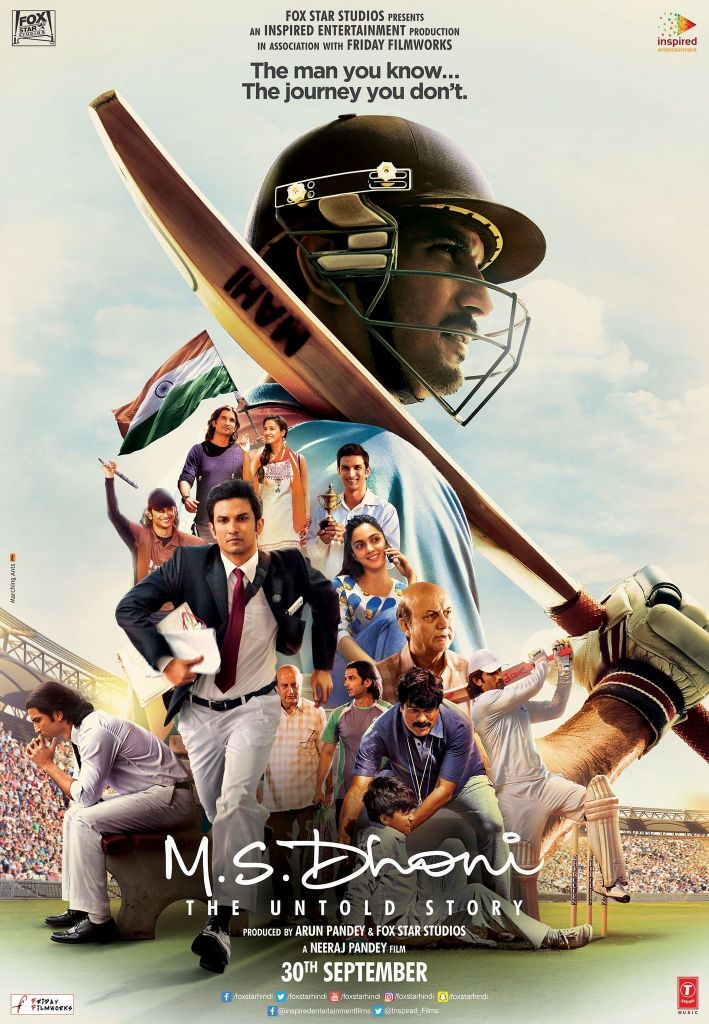 دانلود رایگان فیلم M.S. Dhoni The Untold Story 2016