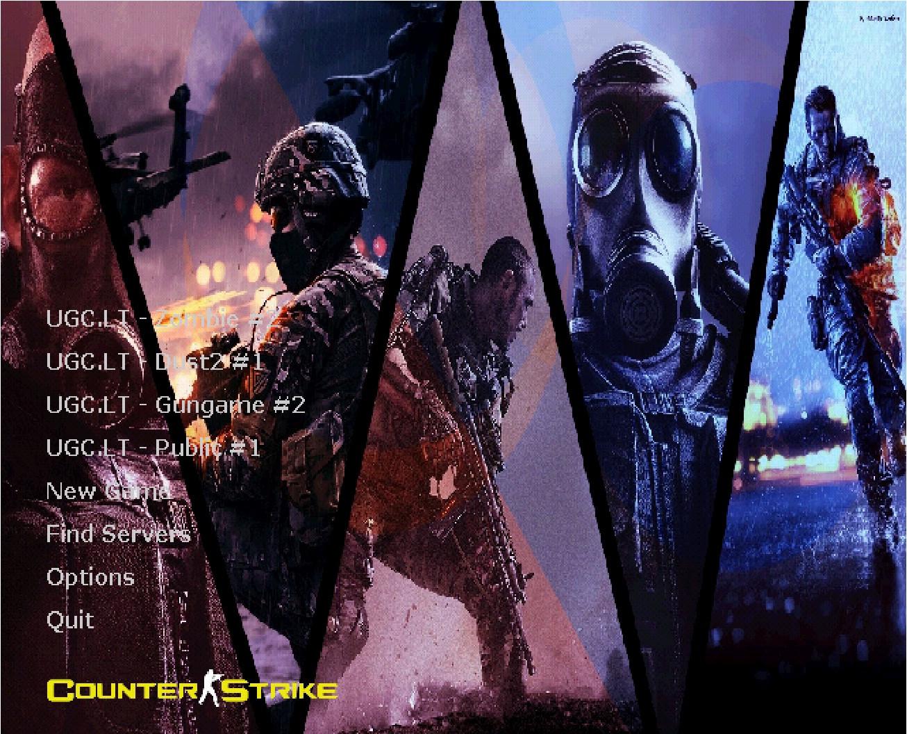 دانلود بک گراند FPS Gaming Background برای کانتر استریک 1.6