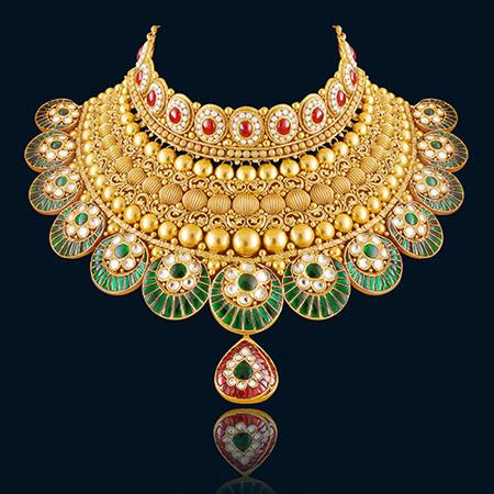 بروزترین مدل جواهرات برند HAZOORILAL JEWELLERS